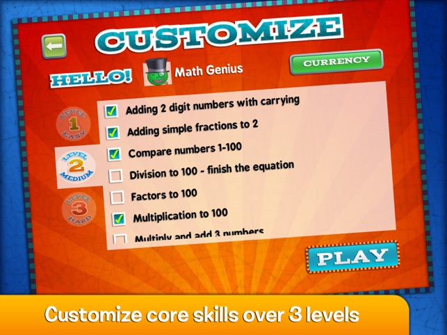 ‎Marble Math Screenshot