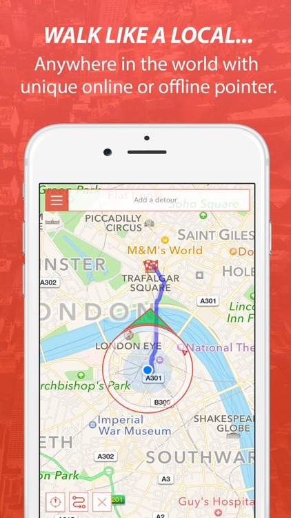 Strydr City Walking Navigation screenshot-0