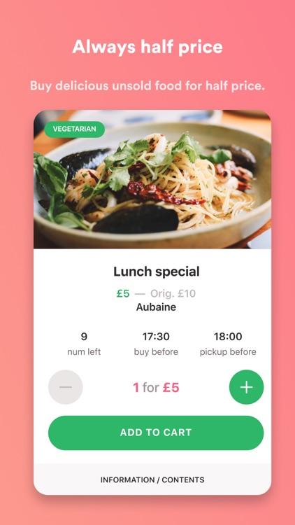 Karma - The Surplus Food App screenshot-0