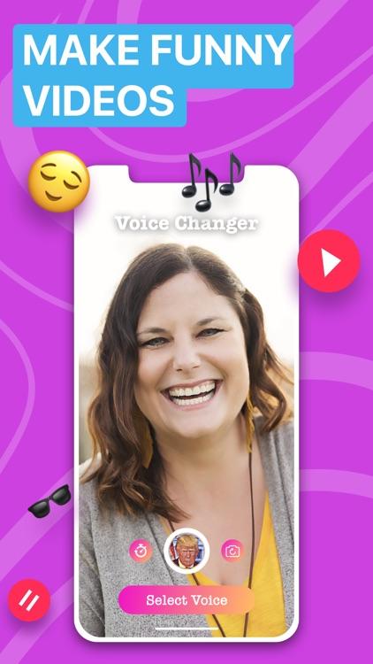 Voicer Famous AI Voice Changer screenshot-5