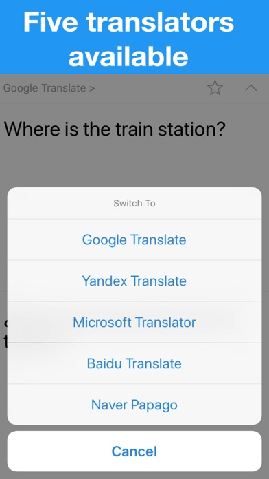 Translator - TranslateZ screenshot 4