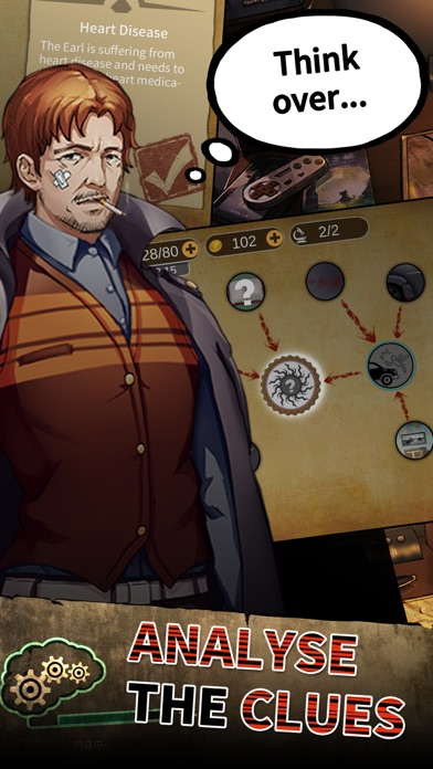 Top Detective:Criminal Games free Coins and Tickets hack