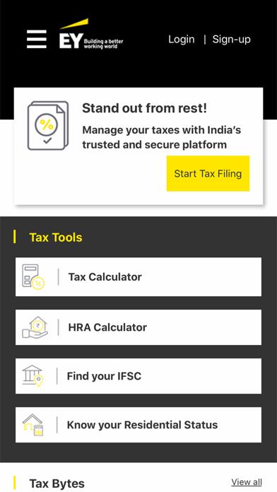 EY Digi India Personal Tax screenshot two