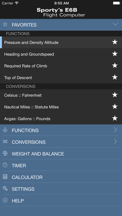 Screenshot for Sporty's E6B Flight Computer in United States App Store