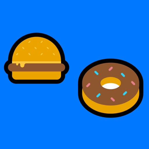 Colorful Food Stickers