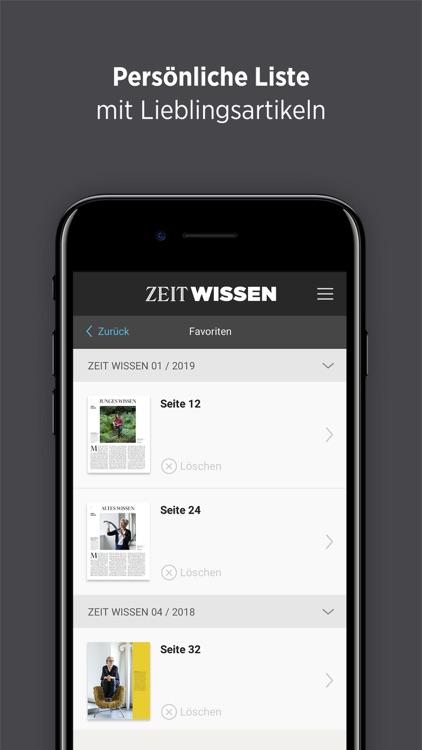 ZEIT WISSEN screenshot-3