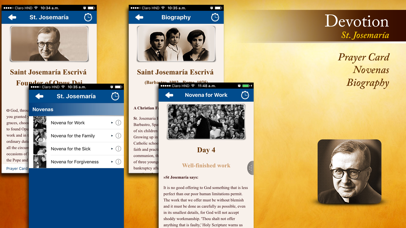 Screenshot for St. Josemaria in Switzerland App Store