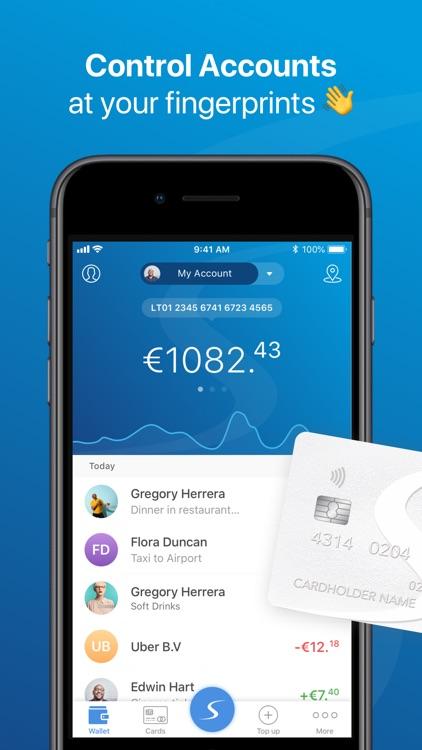 Paysera Mobile Wallet