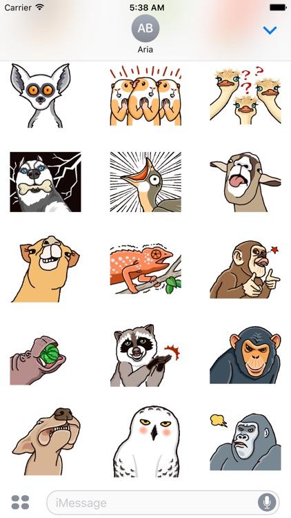 Funny Animals Animated Sticker