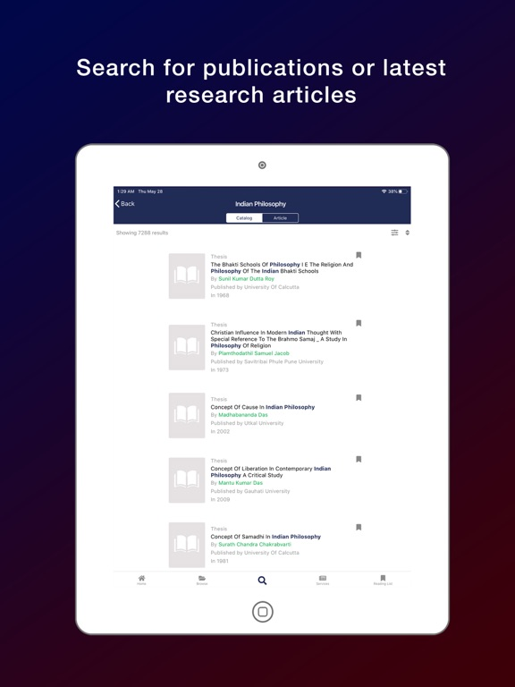 MITWPU eLibrary screenshot 10