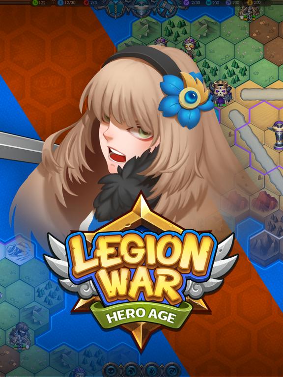 Legion War - Hero Age на iPad