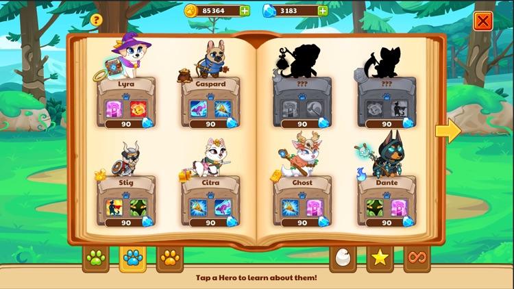 Dungeon Dogs - Idle Hero RPG screenshot-8