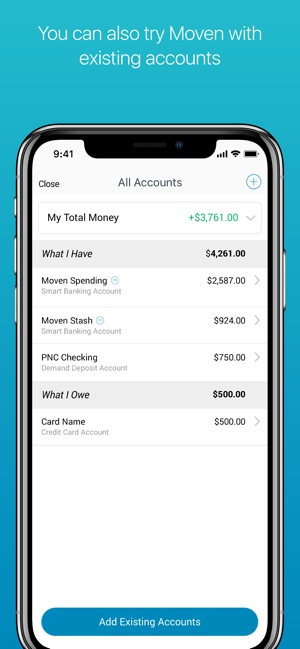Moven - Smart Mobile Banking on the App Store