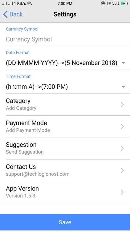 Expense Manager. screenshot-7
