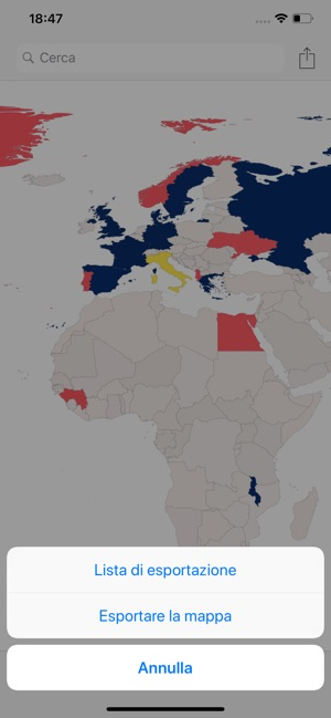 Cartina Geografica Per Segnare Luoghi Visitati.Visited Luoghi Dove Sono Stato Su App Store