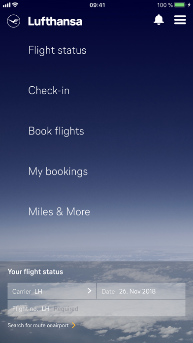 Lufthansa review screenshots
