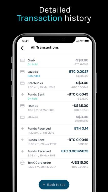 TenX - Buy Bitcoin & Card screenshot-6