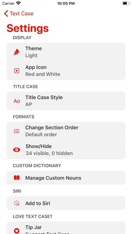 Text Case screenshot-3