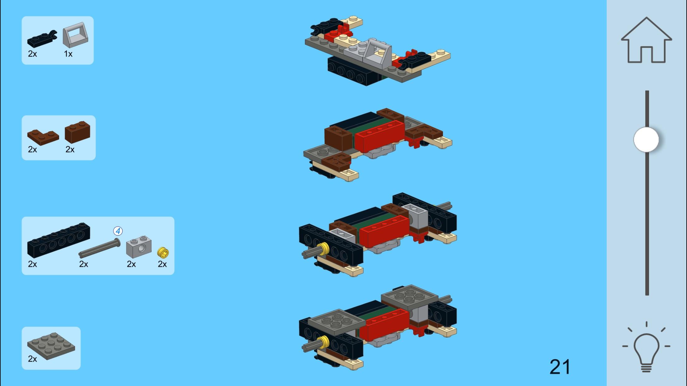 Green 911 for LEGO 10242 Set Screenshot