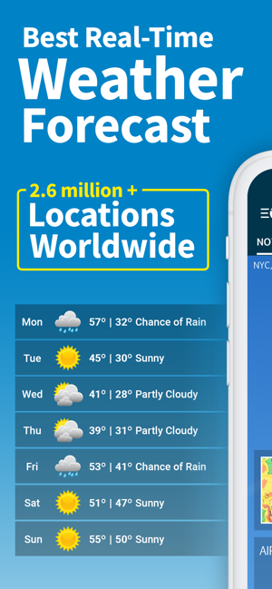 ‎WeatherBug – Weather Forecast Screenshot