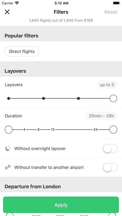 Low Fare Flights