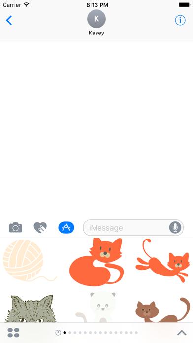 Cat Sticker Pack screenshot three