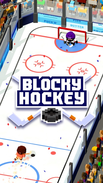 Blocky Hockey screenshot-4