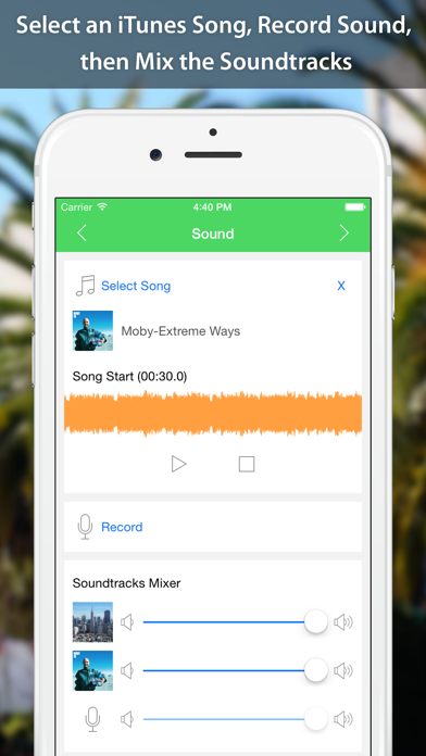 Screenshot for VideoSound - Music to Video in Malaysia App Store