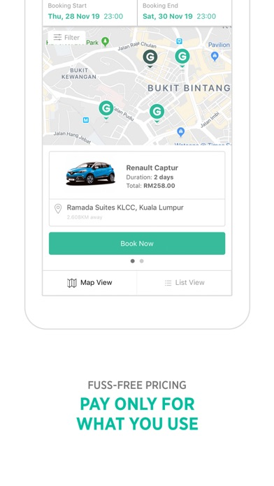 GoCar Malaysia: Car Sharing screenshot three