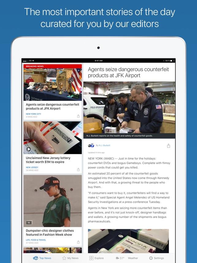 WABC Eyewitness News on the App Store