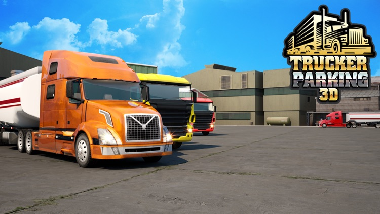 Trucker Parking 3D screenshot-3