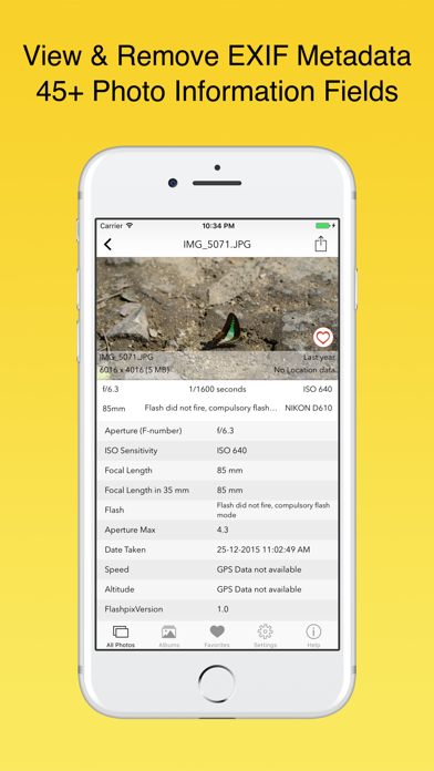 EXIF Viewer by Fluntro IPA Cracked for iOS Free Download