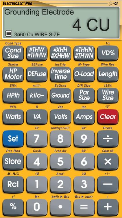 ElectriCalc Pro screenshot-4