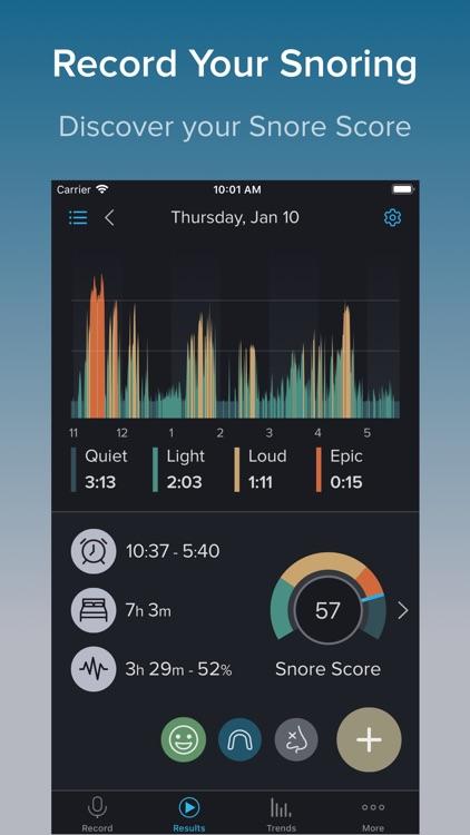 SnoreLab : Record Your Snoring