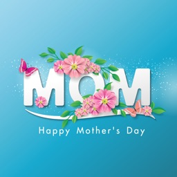Mother's Day Greeting Stickers