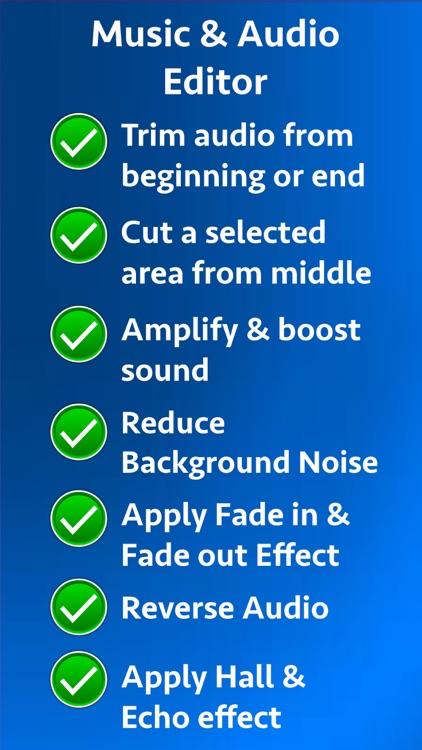 Music & Audio Editor screenshot-8