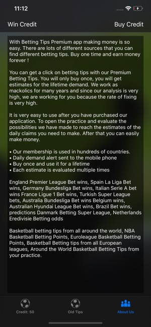 Betting Tips Premium - Footbal on the App Store