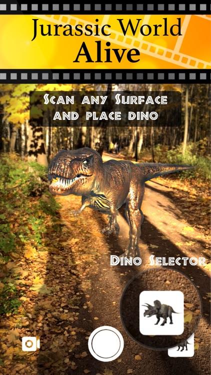 Jurassic AR Camera 3D Glasses screenshot-5