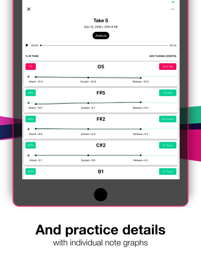 Tunable: Music Practice Tools