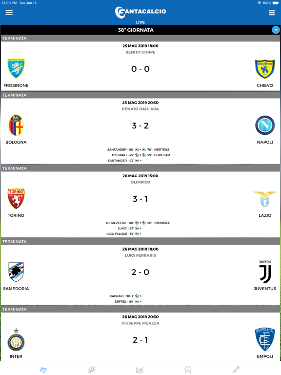 Screenshot #4 pour Fantacalcio.it