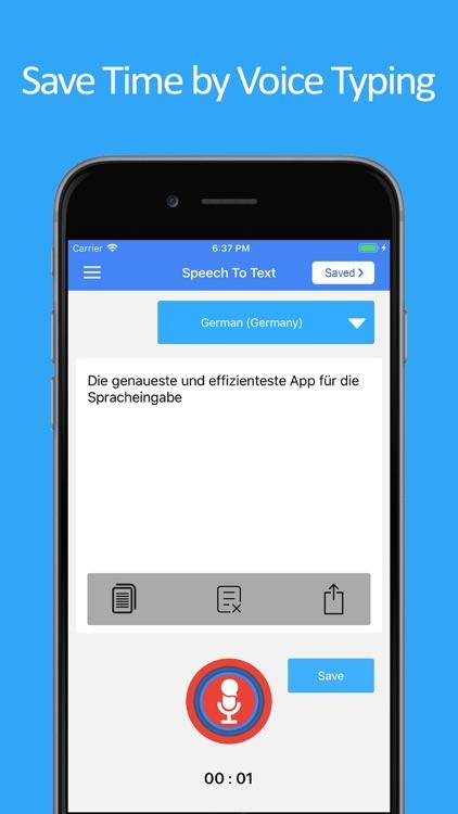 Speech to Text : Speak Notes screenshot-3