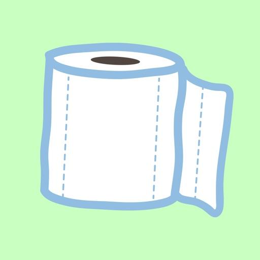 Toilet Paper Emoji Stickers