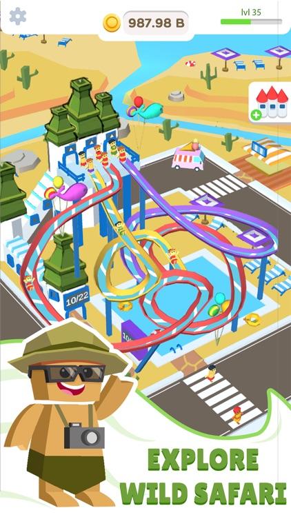 Idle Waterpark 3D Fun Aquapark screenshot-3