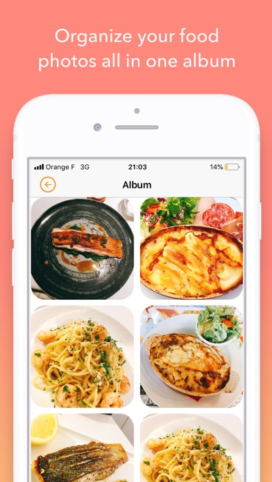 FoodyLife: The Food Diary Appのおすすめ画像5