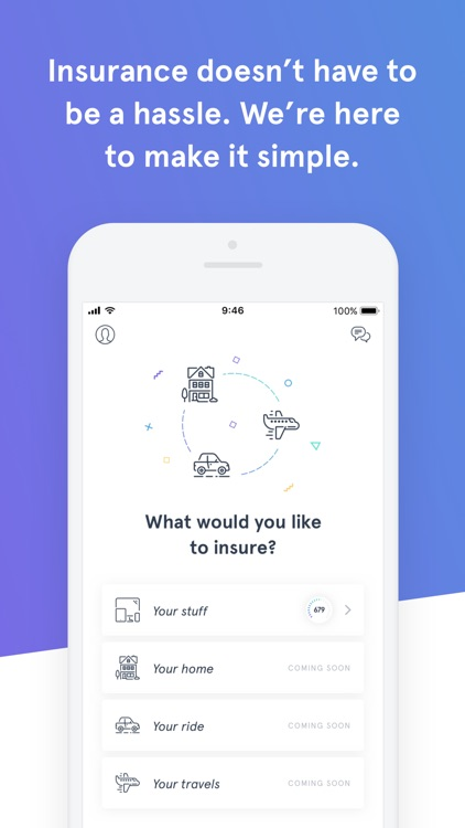 Wrisk – Contents insurance