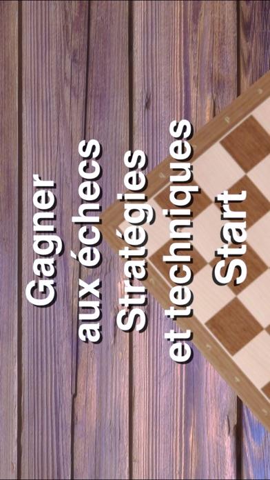 Echecs stratégie et technique Screenshot
