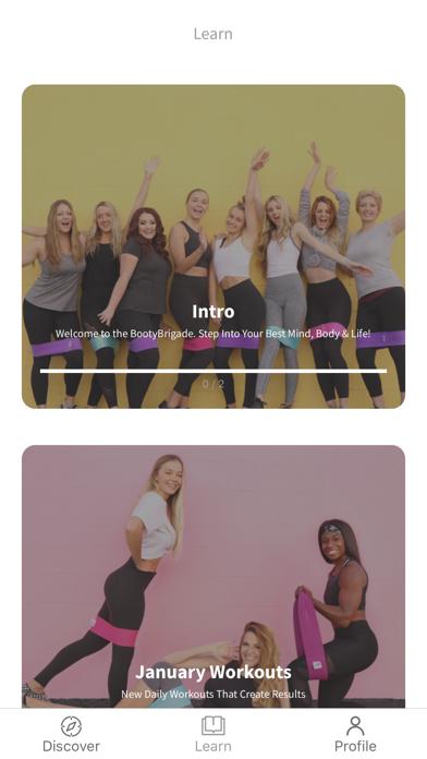 Booty Bands® Fitness screenshot 1