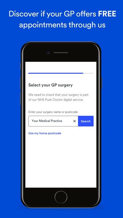 Push Doctor - Online GP Advice screenshot two