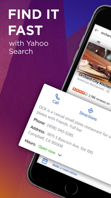 Yahoo Search review screenshots