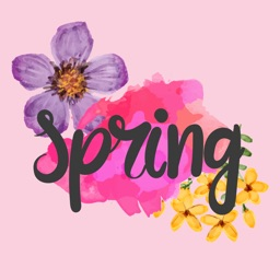 Spring Flowers Stickers Pack